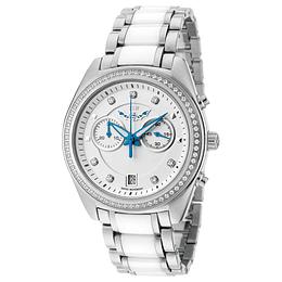 Reloj Mujer Swiss white silver Isw