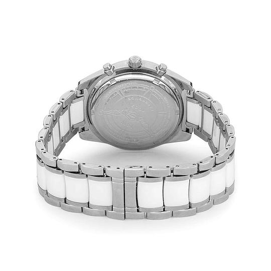 Reloj Swiss white silver Isw