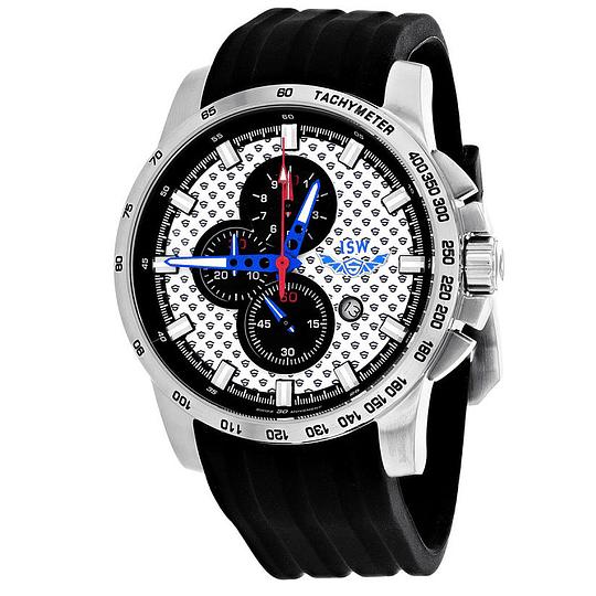 Reloj Isw Swiss white chrono