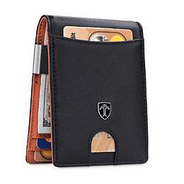 Billetera Hombre mini slim con Bloqueo RFID