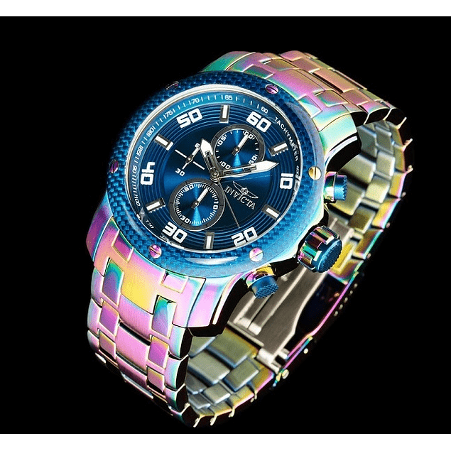 RELOJ INVICTA RAINBOW BLUE