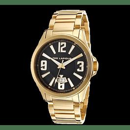 RELOJ TED LAPIDUS GOLD BLACK 5123707Sm