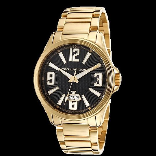 Reloj Ted Lapidus gold 5123707Sm