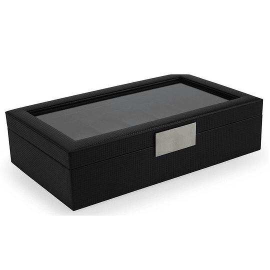 Caja de Lujo Marca Glenor Original carbon fiber