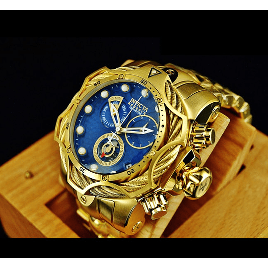 RELOJ HOMBRE INVICTA RESERVE VENOM GOLD 27701