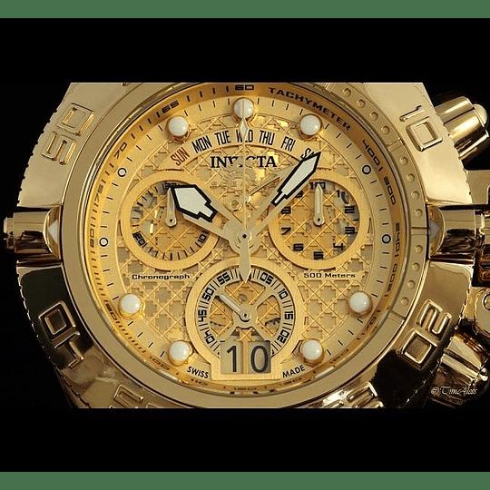 Reloj Hombre Dorado Invicta Subaqua 14497