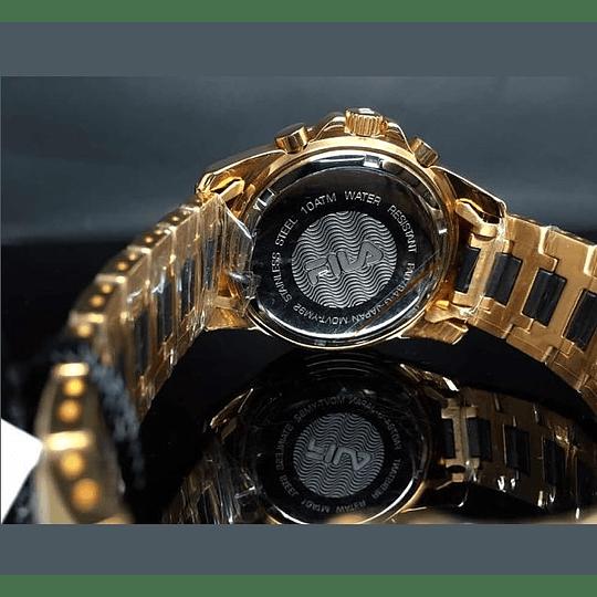 Reloj dorado Fila mastertime