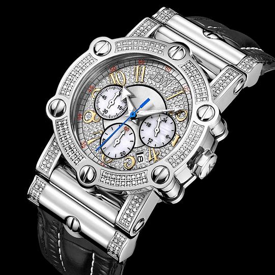 Reloj Hombre Jbw silver diamond JB-6215-10A