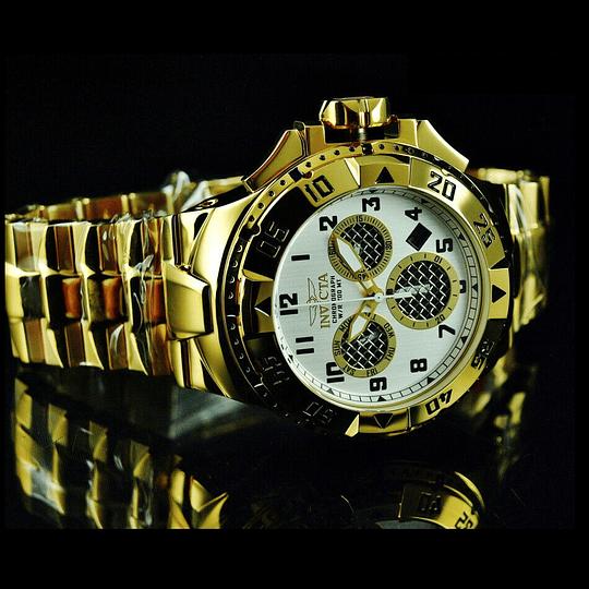 Reloj dorado Invicta excursión 29721