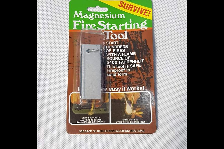 Magnesium pedernal