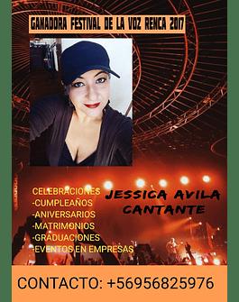 JESSICA AVILA ROMERO  / CANTANTE EVENTOS