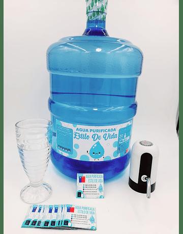 Estilo de Vida - Agua Envasada