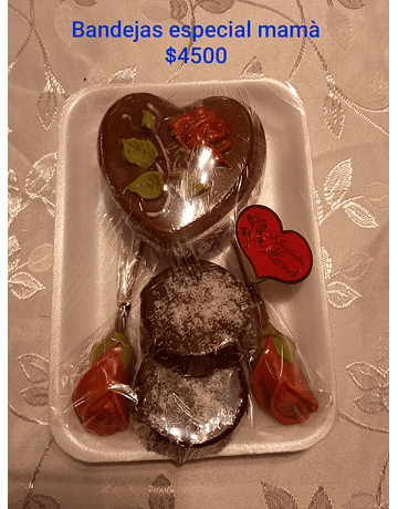 Bandejas Chocolates Artesanales