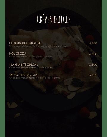 Pecados cafes & Crepes