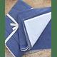 Funda Algodón Stonewash Azul/ Blanco 220x240