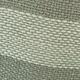 Cojín de Lino entreverado Gris/Verde petróleo líneas crudo 50x50