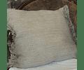 Cojín de Lino tono Natural 50x50