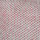 Cojín de Lino Rojo Gris 30x40