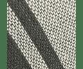Cojín de Lino Entreverado Gris/Marengo lineas Marengo 60x40