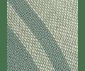 Cojín de Lino Entreverado Crudo/Celeste lineas Celeste Viejo 60x40