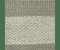 Cojín de Lino Gris Franjas Crudo 50x50
