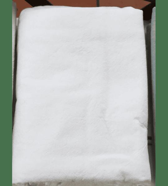 Set 2 Fundas Algodón Stonewash Blanca