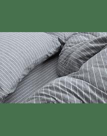 Gris Rayas Blancas 170 x 240