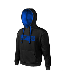 Sweatshirt Basic Black | Blue
