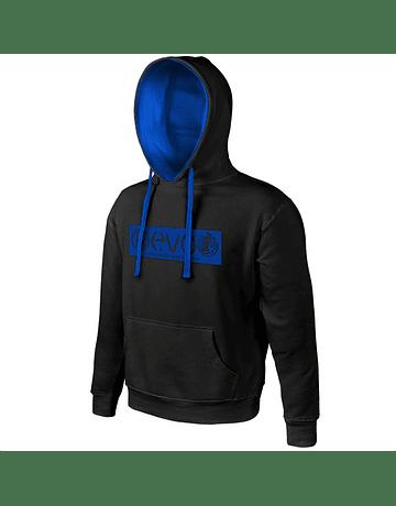 Sweatshirt Basic Black | Blue