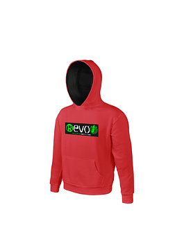 Sweatshirt Kid Red | Black