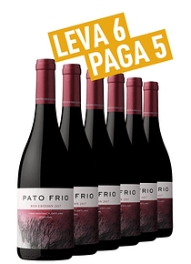 Pack 6 gfs Pato Frio Red Edition 2017