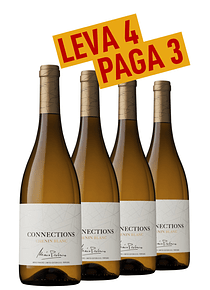 Pack 4 gfs Connections Chenin Blanc 2019