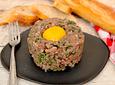 Carne molida de posta (tártaro) 🐄