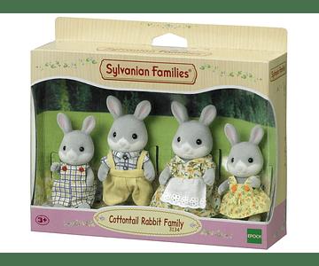 Familia Conejo Colita de Algodón