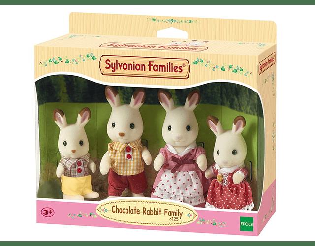 Familia Conejo Chocolate - PREVENTA (disponible desde 13 Mayo)