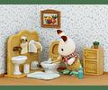 Set Hermano Conejo Chocolate (baño)