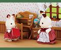 Set Hermana Coneja Chocolate (escritorio)