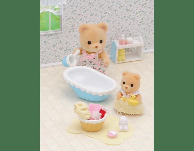 La Hora del Baño para el Bebé