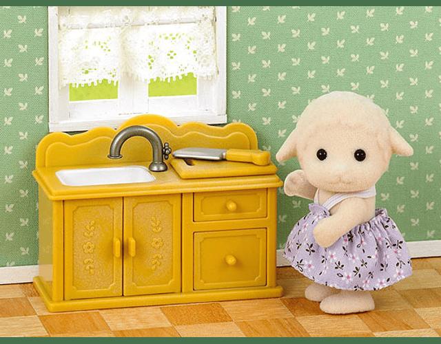 Hermana oveja cocina