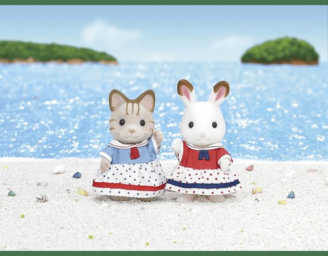 Amigas en la Playa