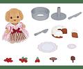 Set pastel decorado