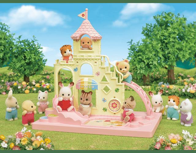 Castillo Parque infantil bebés