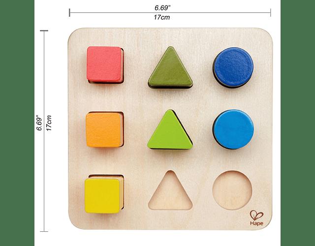 Encaje por color y forma