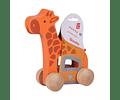 Arrastre jirafa