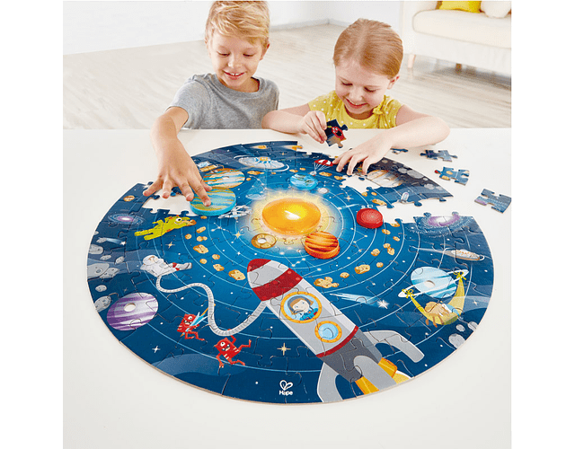 Puzzle Sistema solar 102 piezas