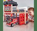 Estación de bomberos de la gran ciudad