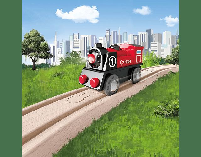 Locomotora de tren a pilas