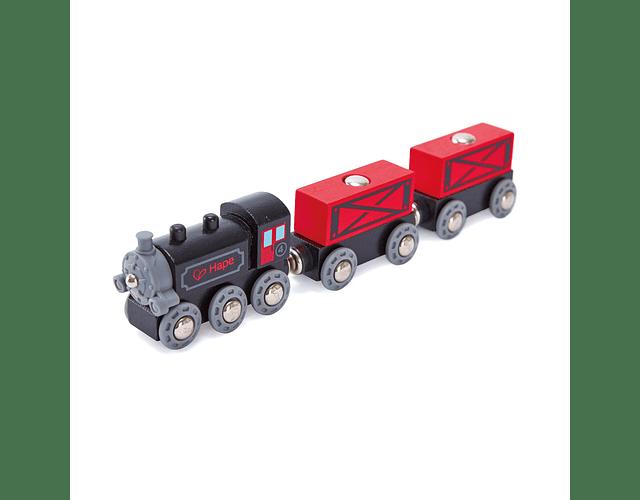 Tren de carga a vapor