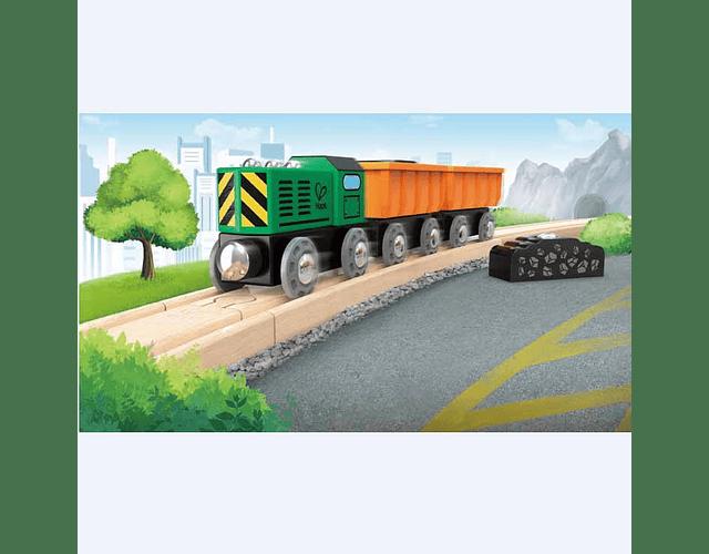 Tren de mercancías diesel