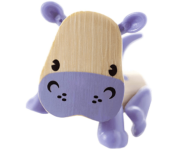 Hipopotamo de bambu
